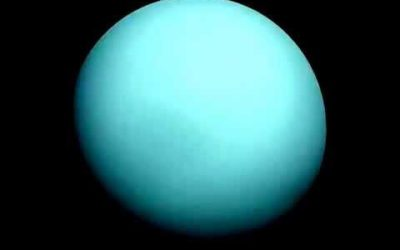photo of blue Uranus